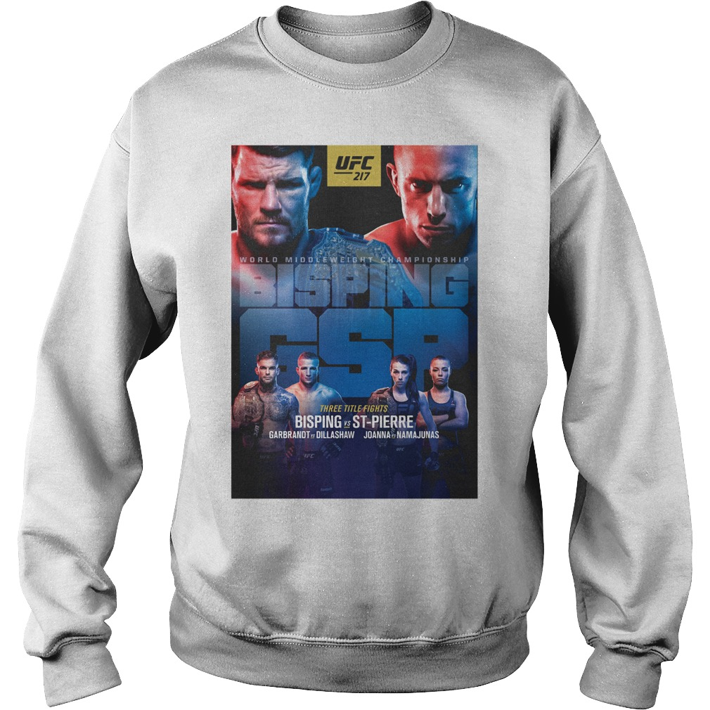 Ufc 217 Bisping Vs Stpierre Event Sweater
