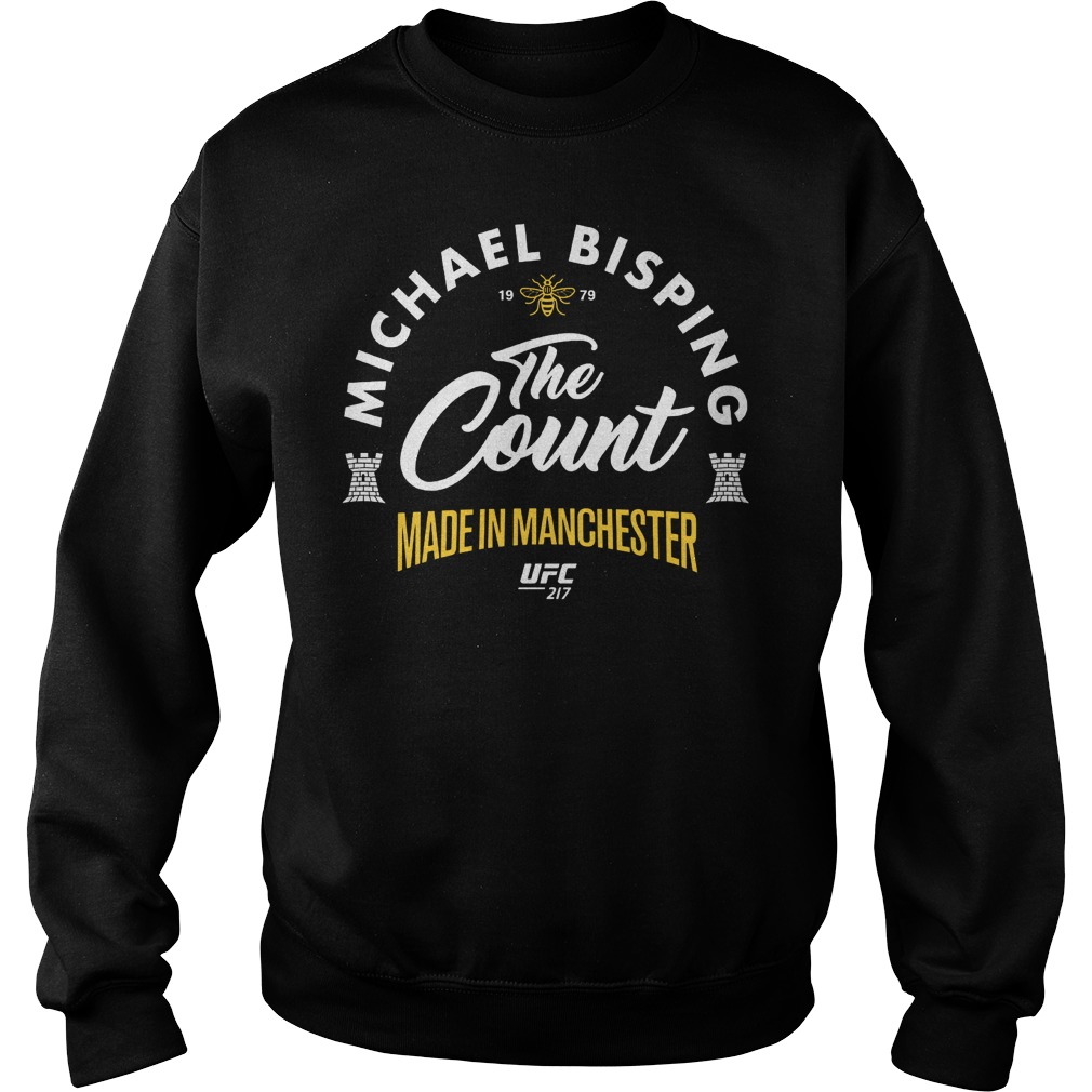 Ufc 217 Michael The Count Bisping Made In Manchester Sweater
