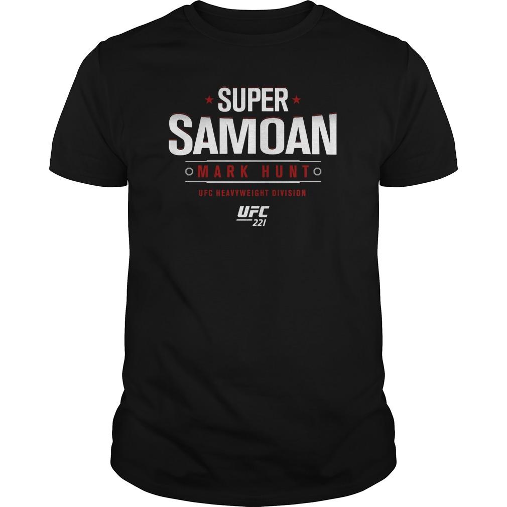 Ufc 221 Mark Super Samoan Guy Tee