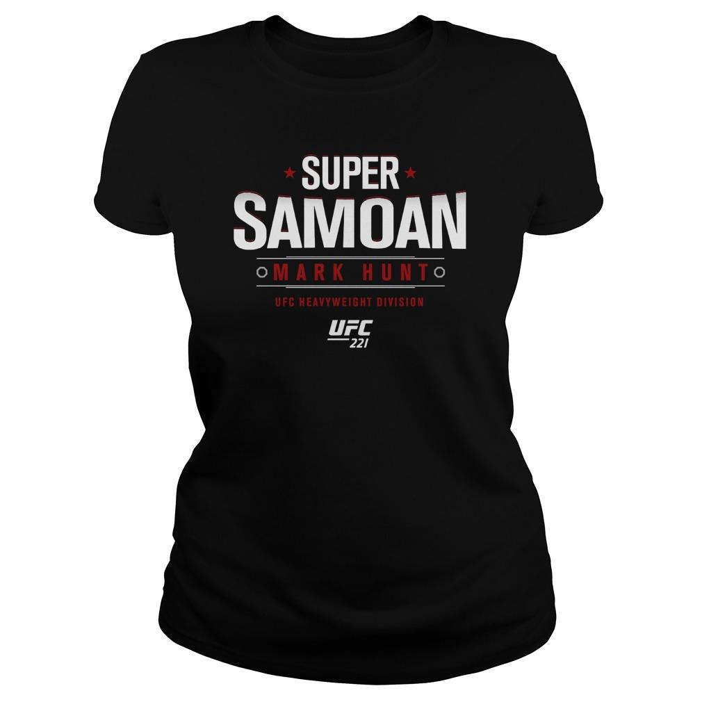 Ufc 221 Mark Super Samoan Ladies Tee