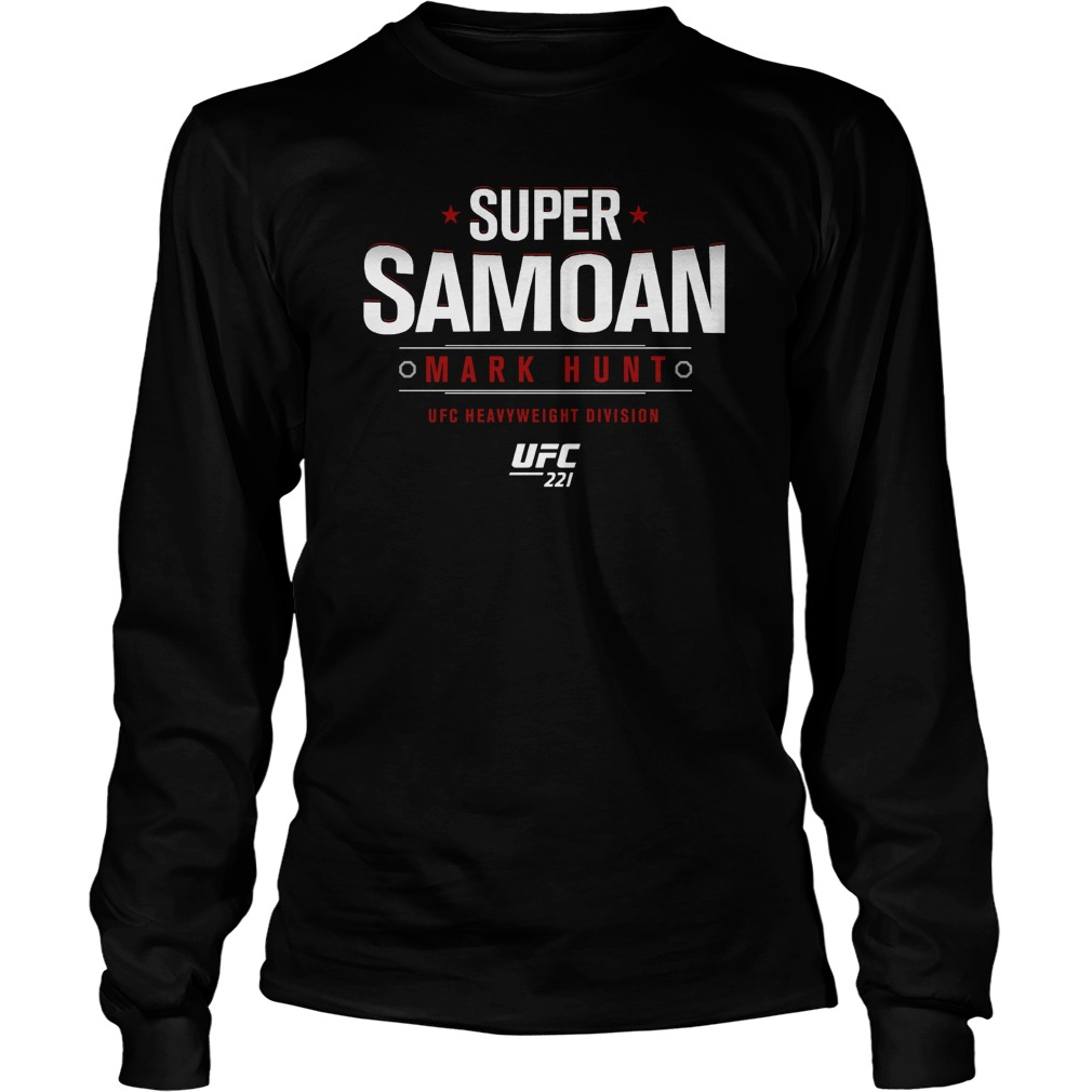 Ufc 221 Mark Super Samoan Longsleeve