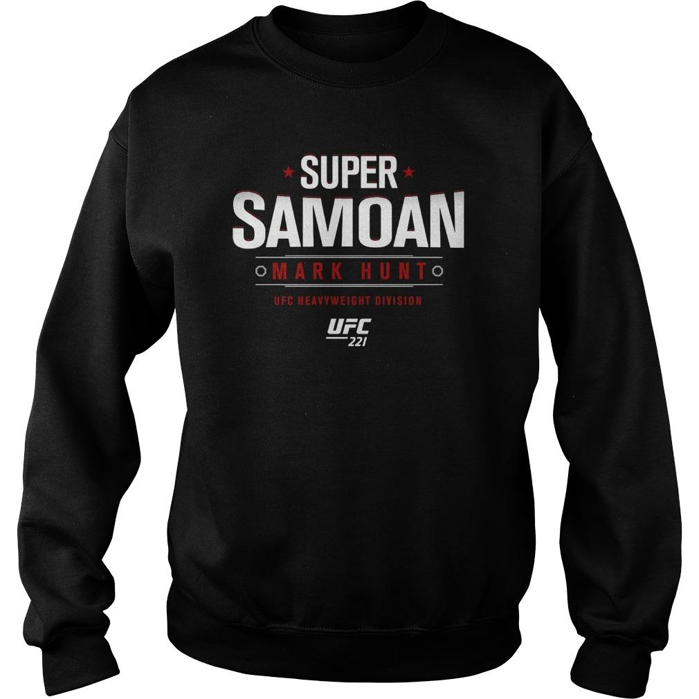 Ufc 221 Mark Super Samoan Sweater