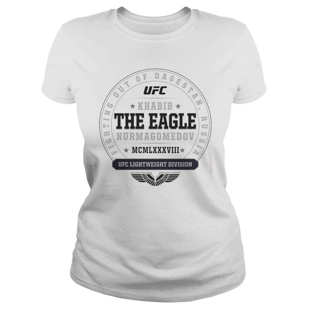Ufc Khabib The Eagle Nurmagomedov Established Ladies Tee
