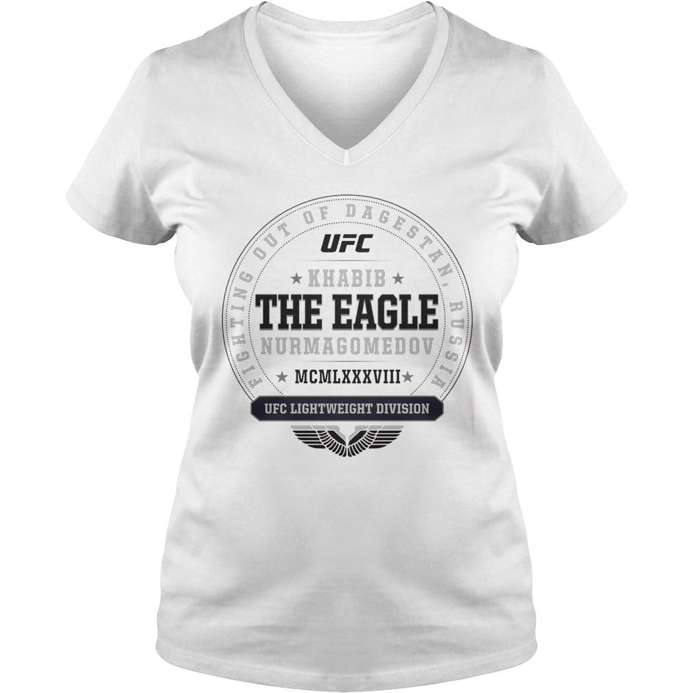 Ufc Khabib The Eagle Nurmagomedov Established Ladies Vneck