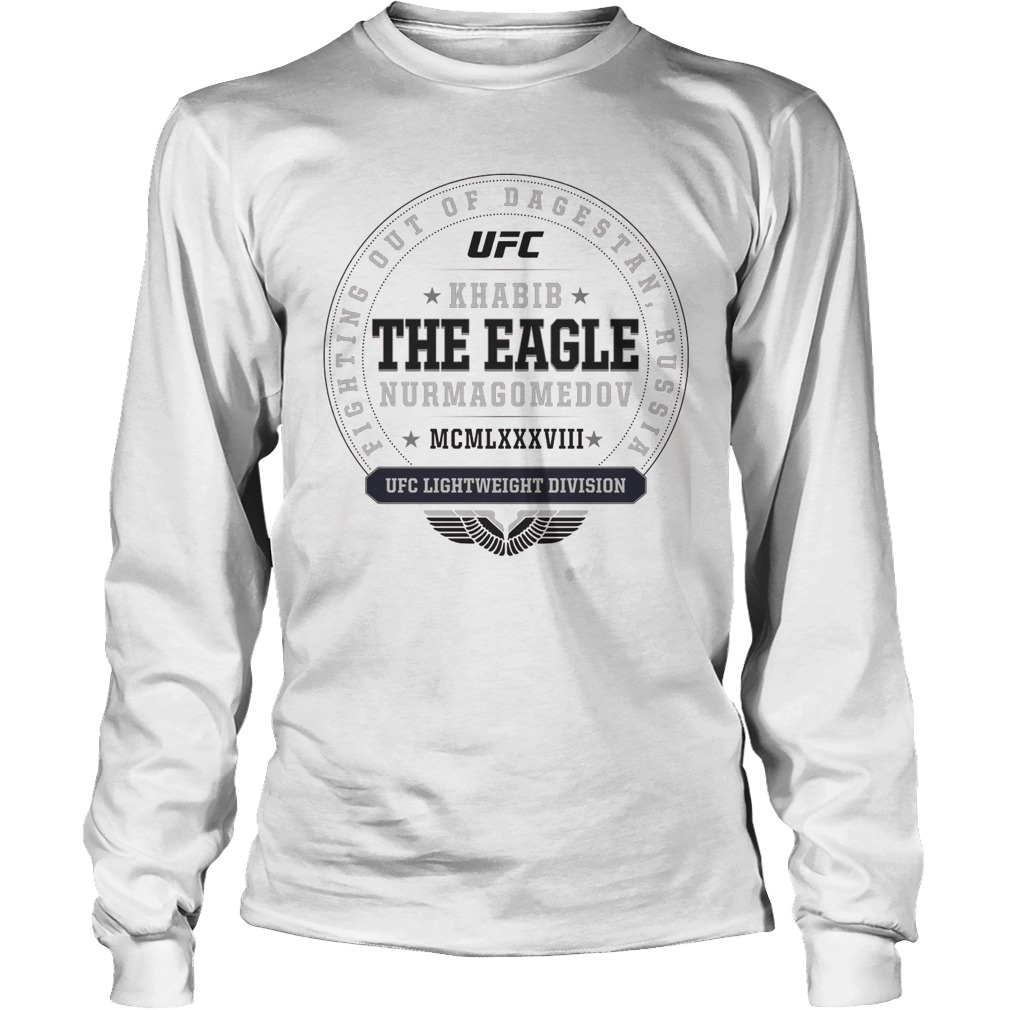 Ufc Khabib The Eagle Nurmagomedov Established Longsleeve