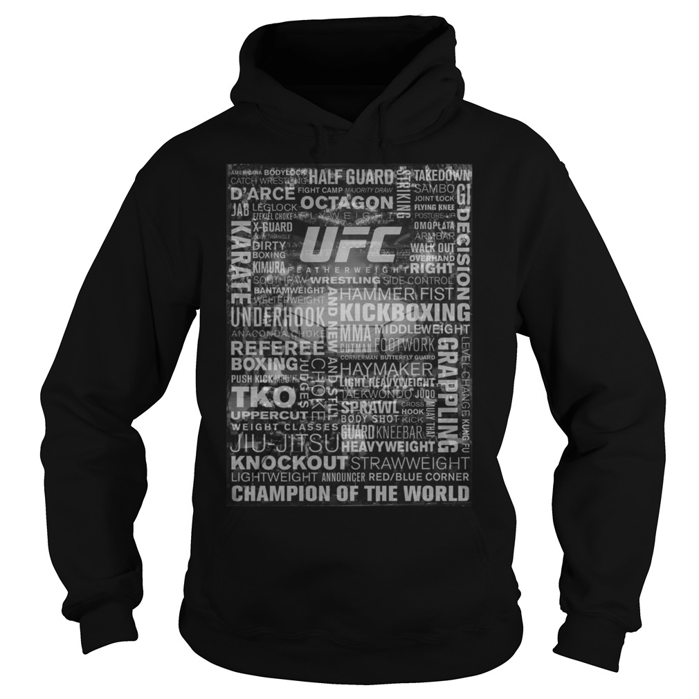 Ufc Terminology All Over Print Hoodie