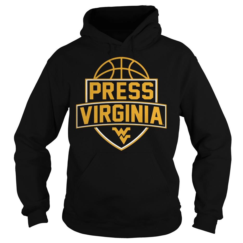 West Virginia Mountaineerspress Virginia Basketball Hoodie