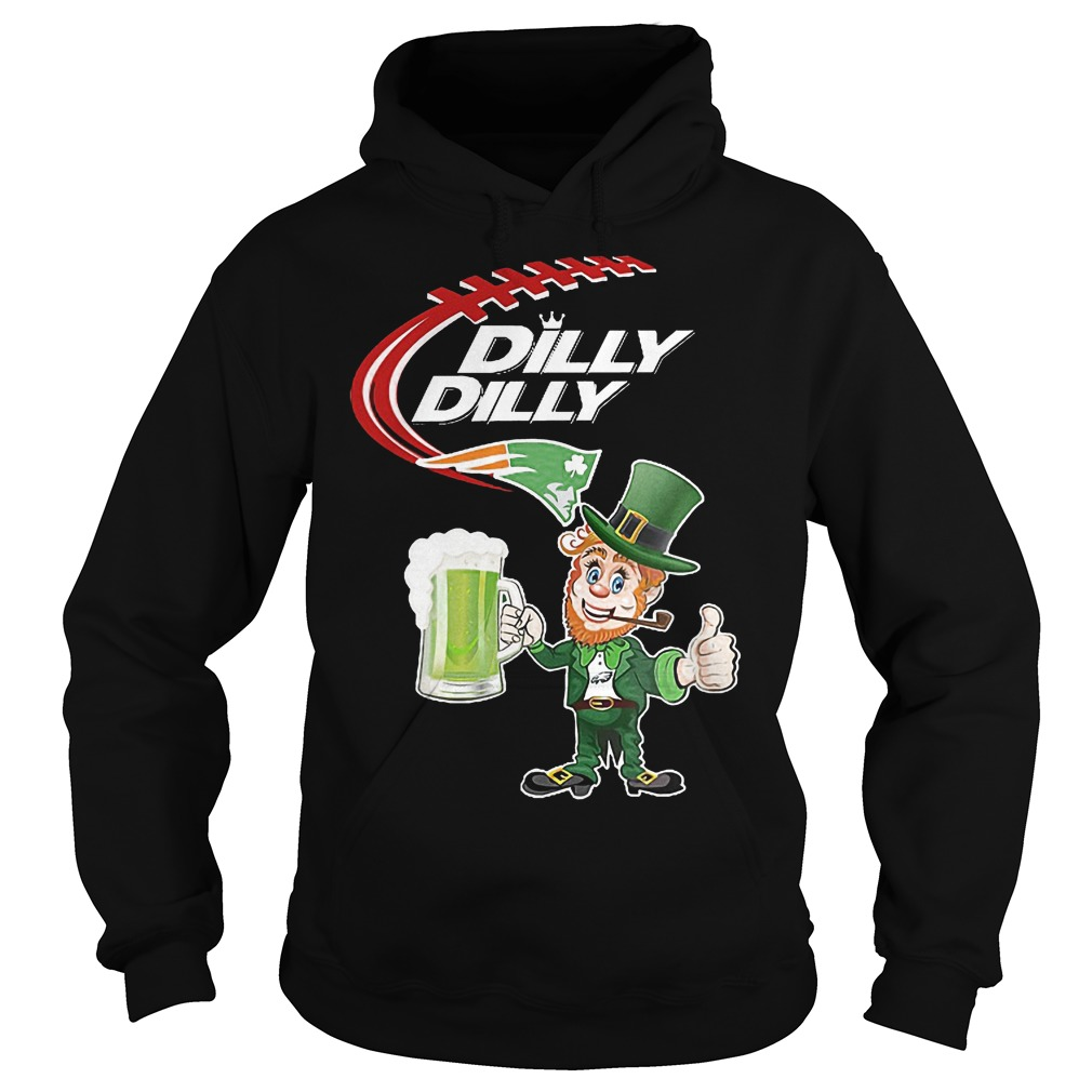 Nfl Patriots Dilly Dilly St Patrick Day Hoodie