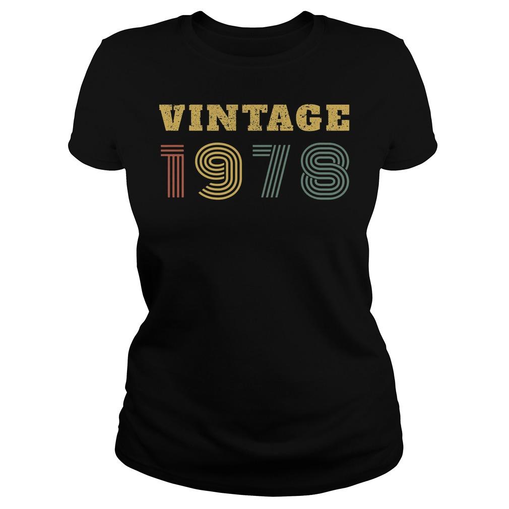 40th Birthday Vintage 1978 Ladies