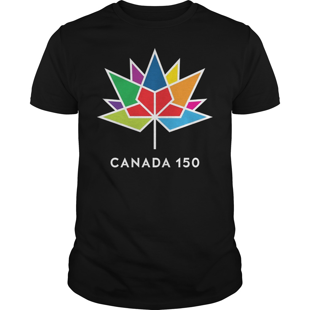 Canada 150 Color Logo Shirt