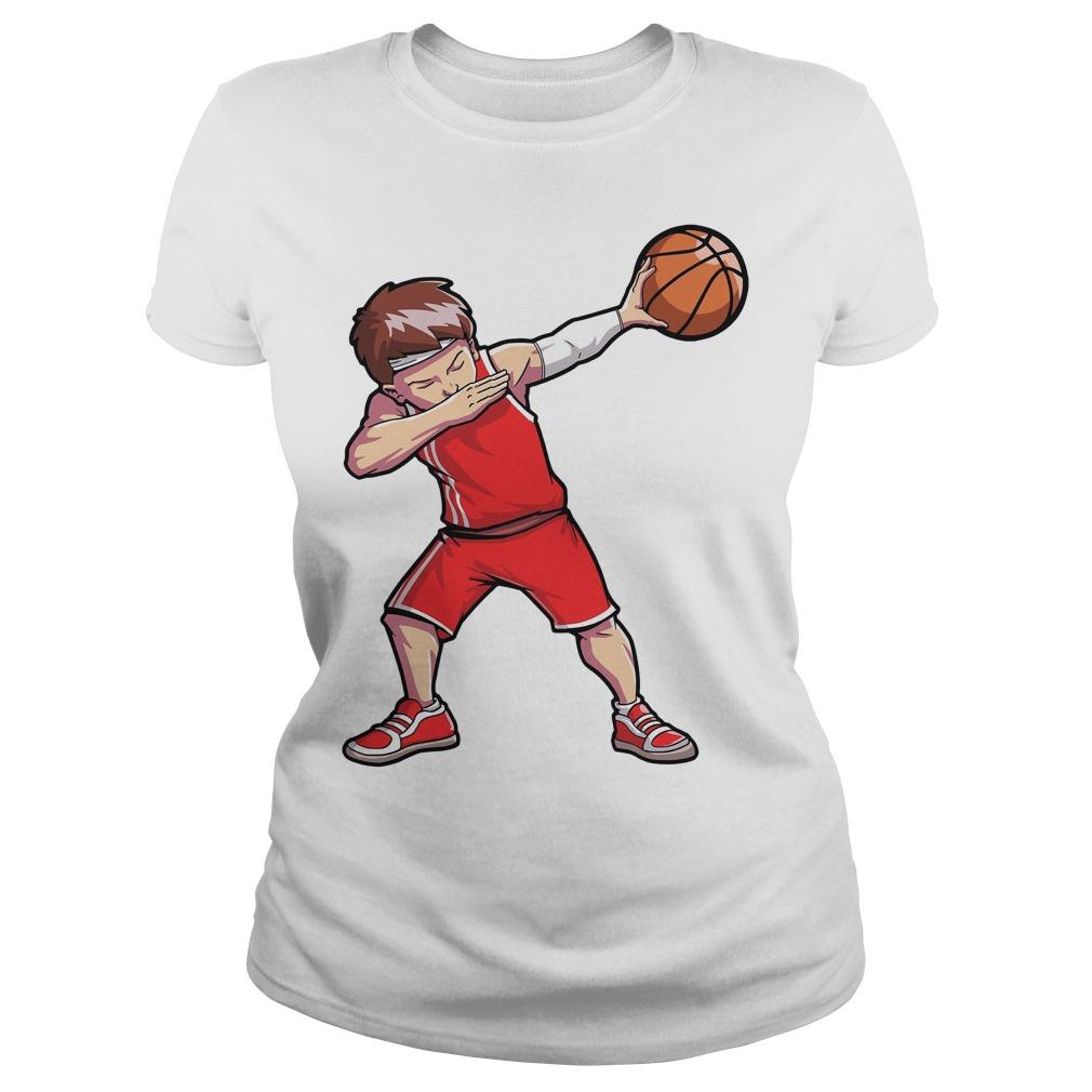 Dabbing Basketball Ladies