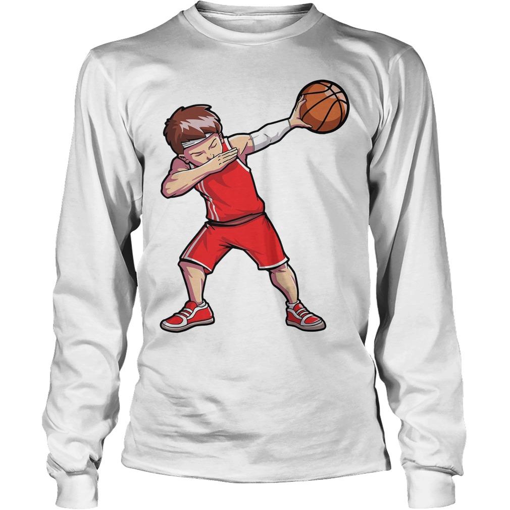 Dabbing Basketball Longsleeve