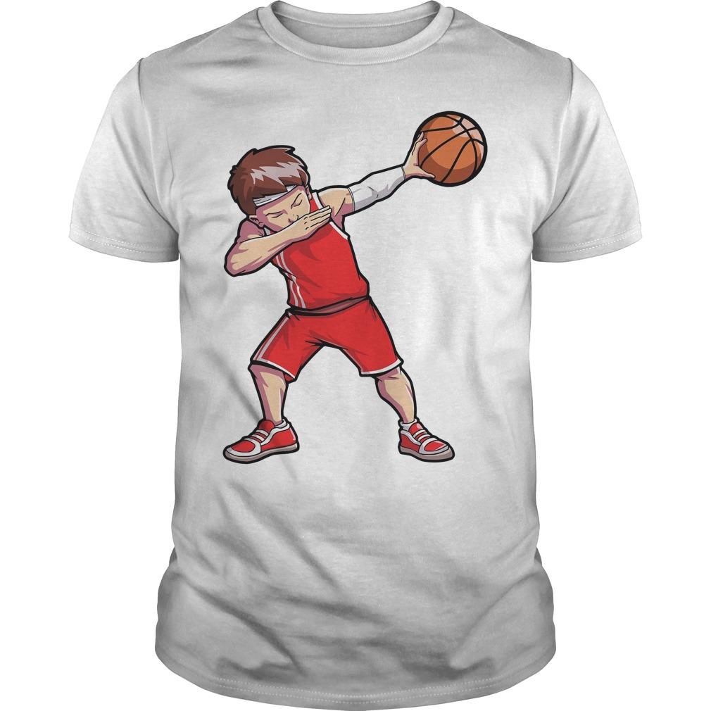 Dabbing Basketball Shirt