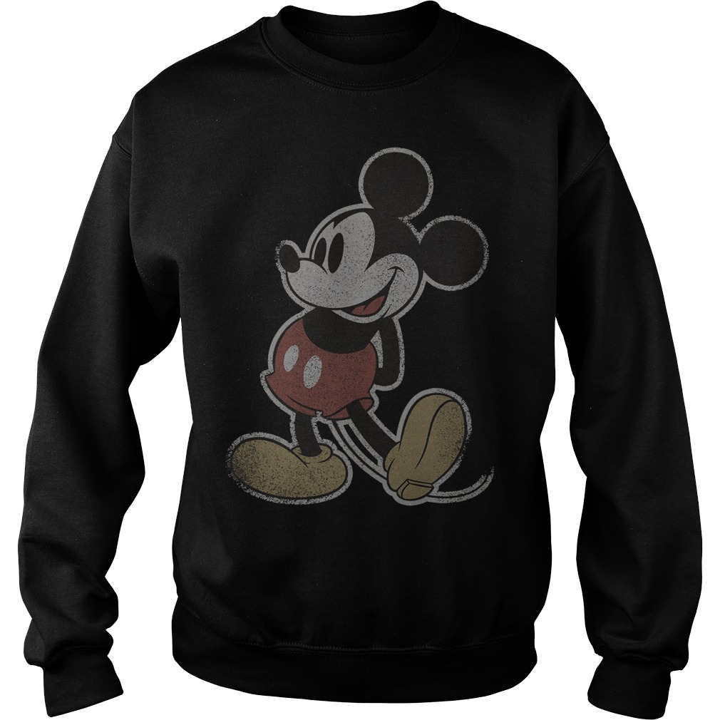 Disney Mickey Mouse Vintage Stand Sweater