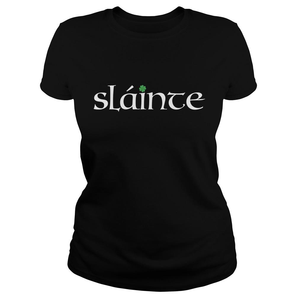 Irish Gaelic Slainte Ladies