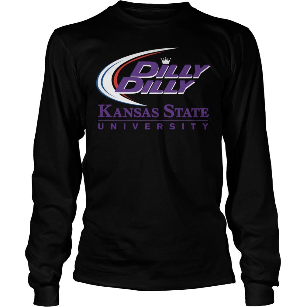K State Ksu Kansas State University Dilly Dilly Longsleeve