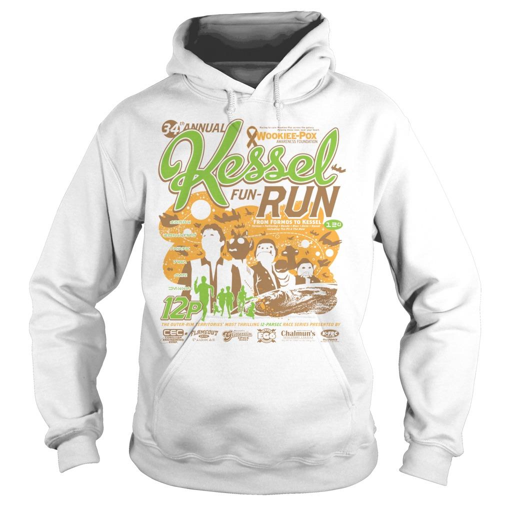 Kessel Funrun 12parsec Race To Cure Wookieepox Hoodie