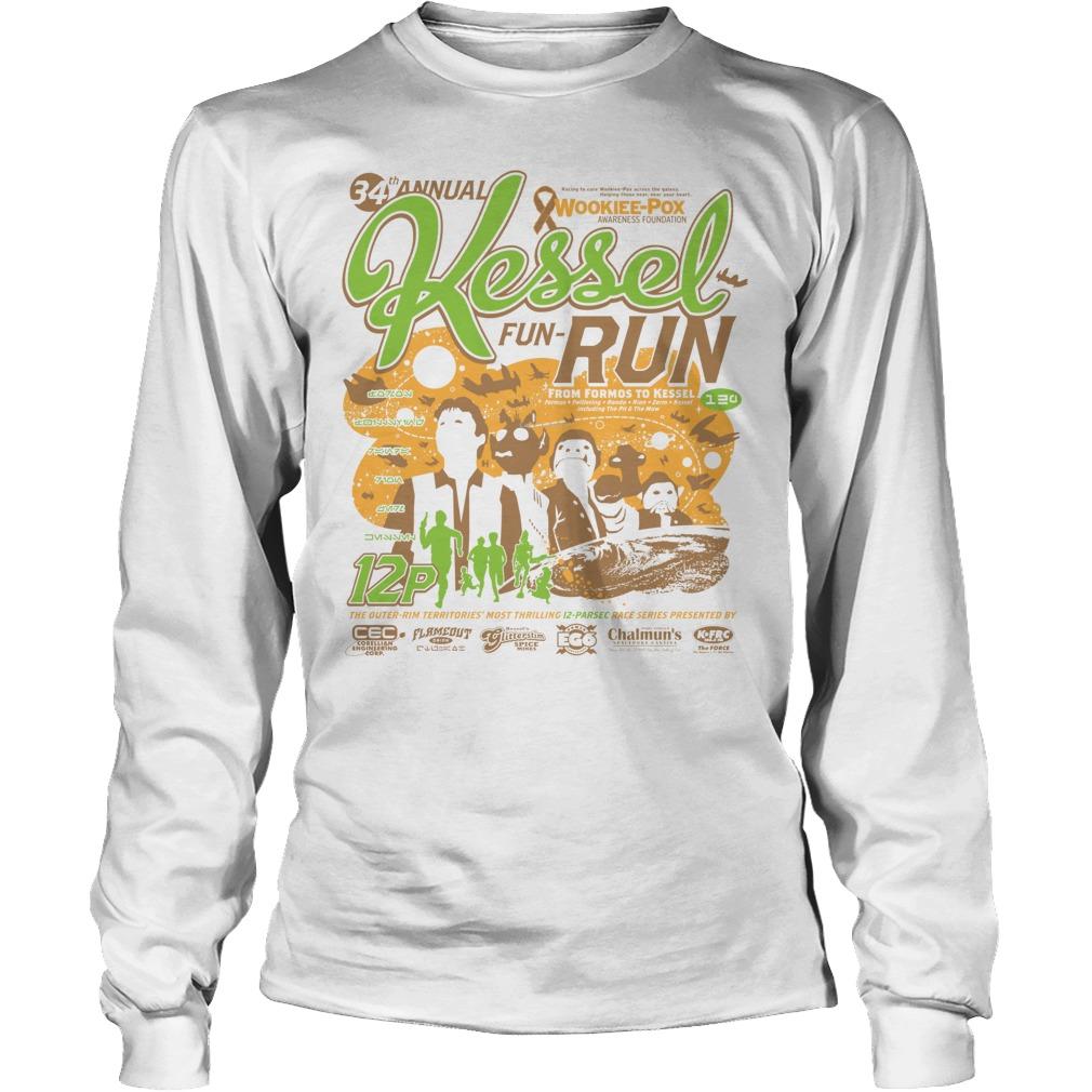 Kessel Funrun 12parsec Race To Cure Wookieepox Longsleeve