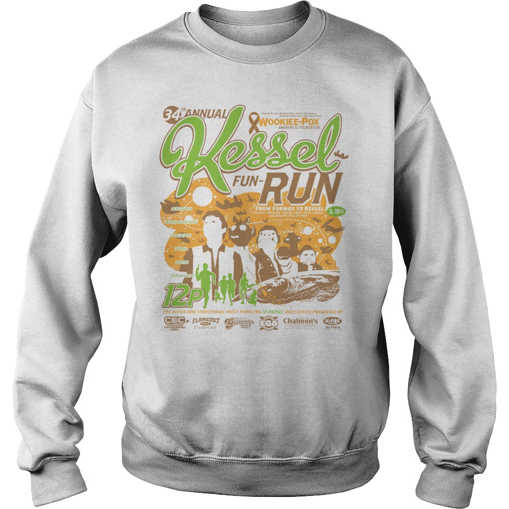 Kessel Funrun 12parsec Race To Cure Wookieepox Sweater