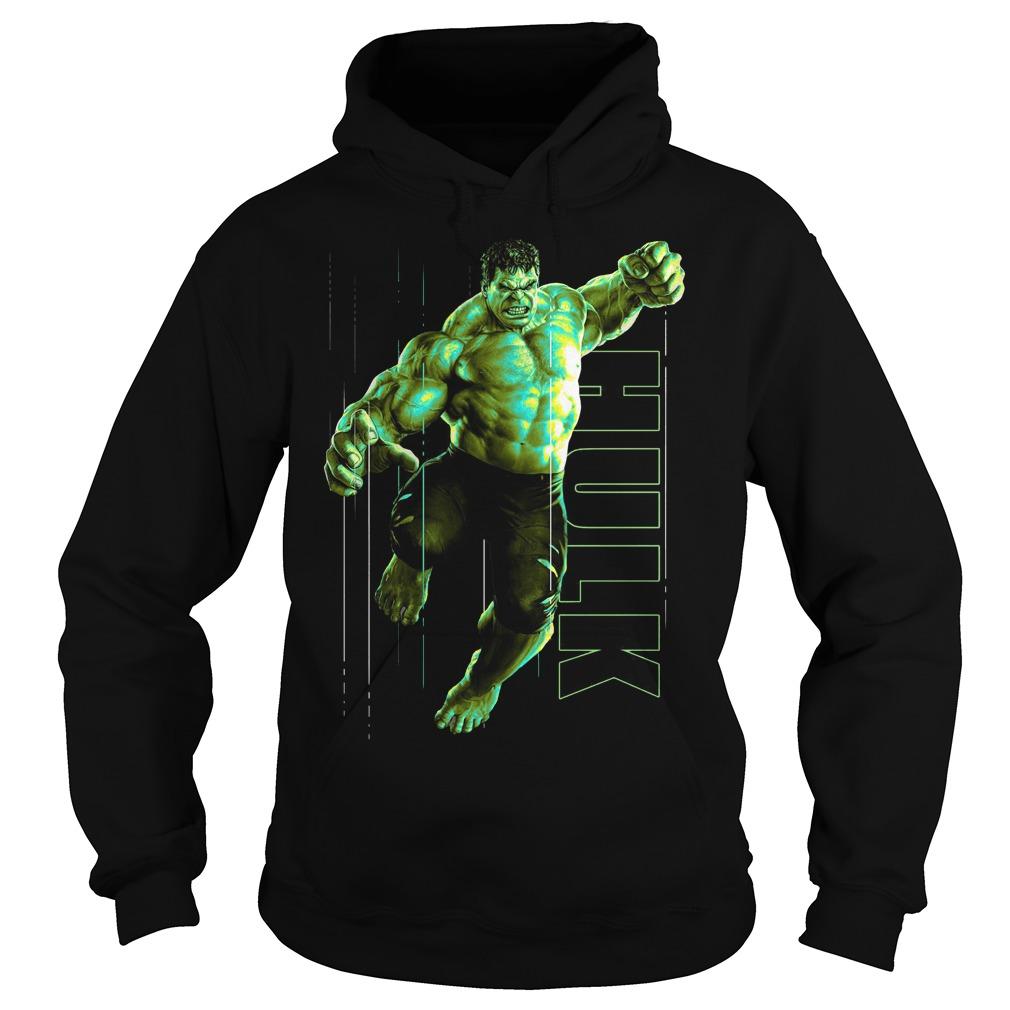 Marvel Infinity War Incredible Hulk Jump Smash Hoodie