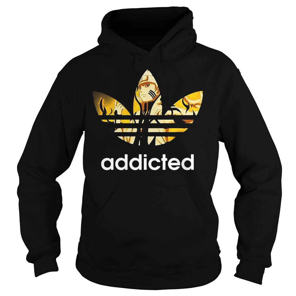 Naruto Adidas Addicted Hoodie