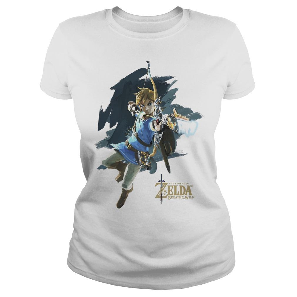 Nintendo Zelda Breath Of The Wild Link Jump Shot Ladies