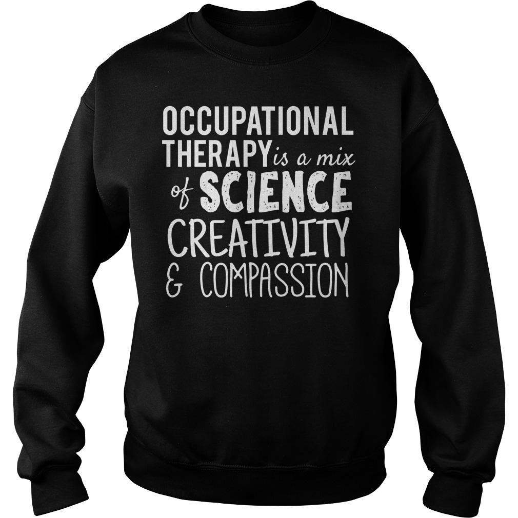 Occupational Therapy Science Creativity Compassion Sweater
