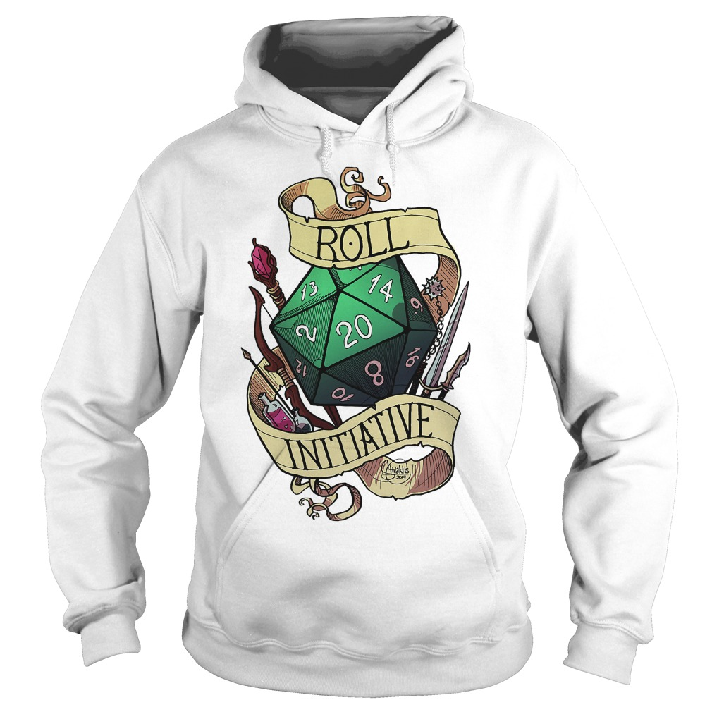 Official Roll Initiative Hoodie