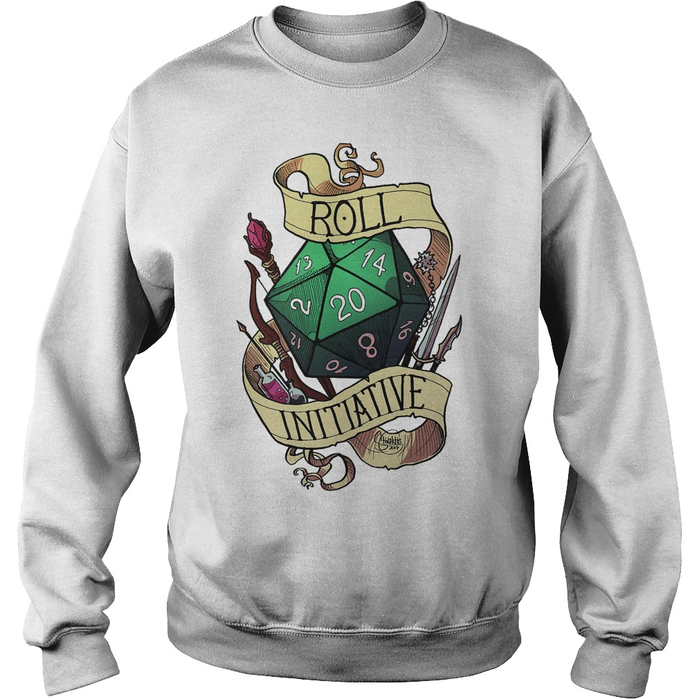 Official Roll Initiative Sweater