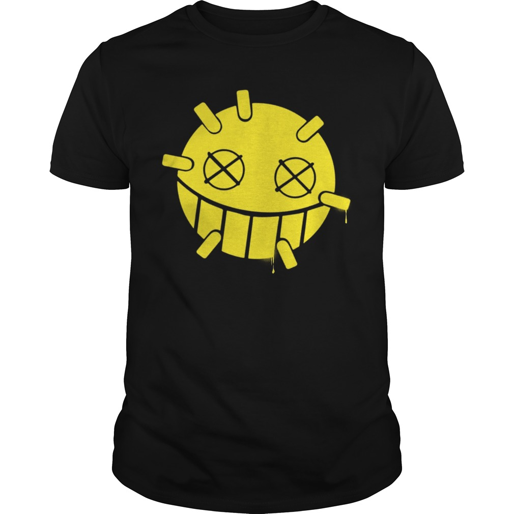 Overwatch Junkrat Smiley Spray Shirt