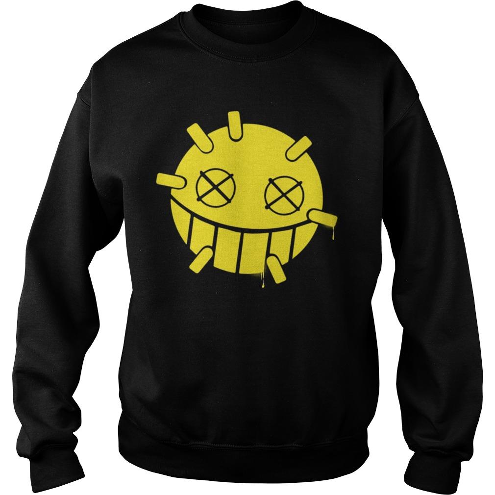 Overwatch Junkrat Smiley Spray Sweater