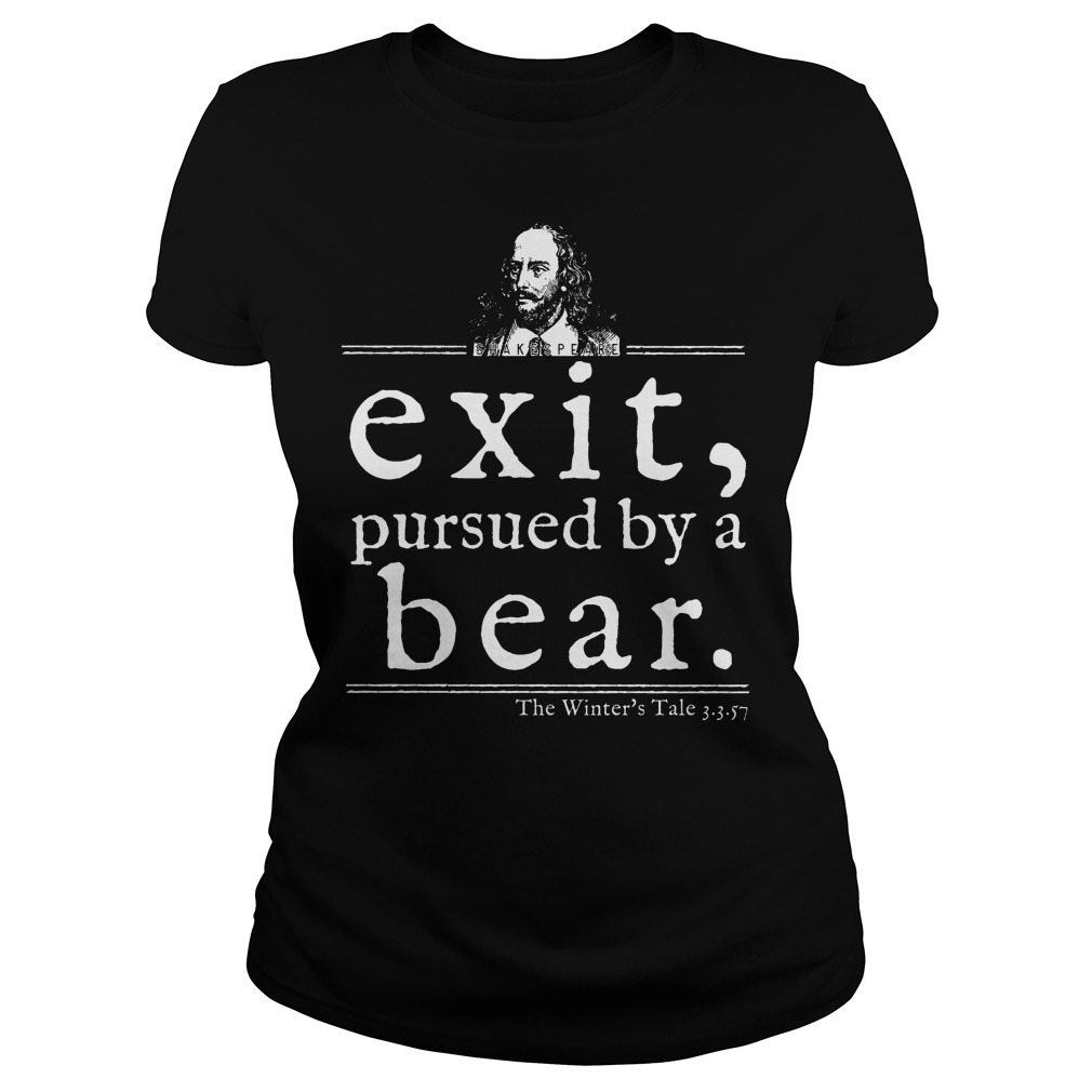 Shakespeare Exit Pursued By A Bear Ladies