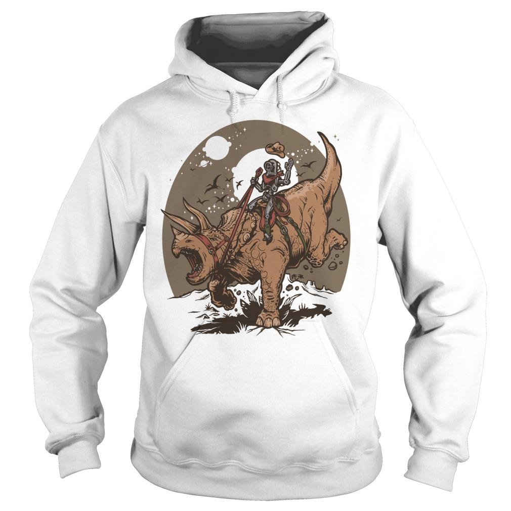 Triceratops Cowbot Dinosaur Trex Hoodie