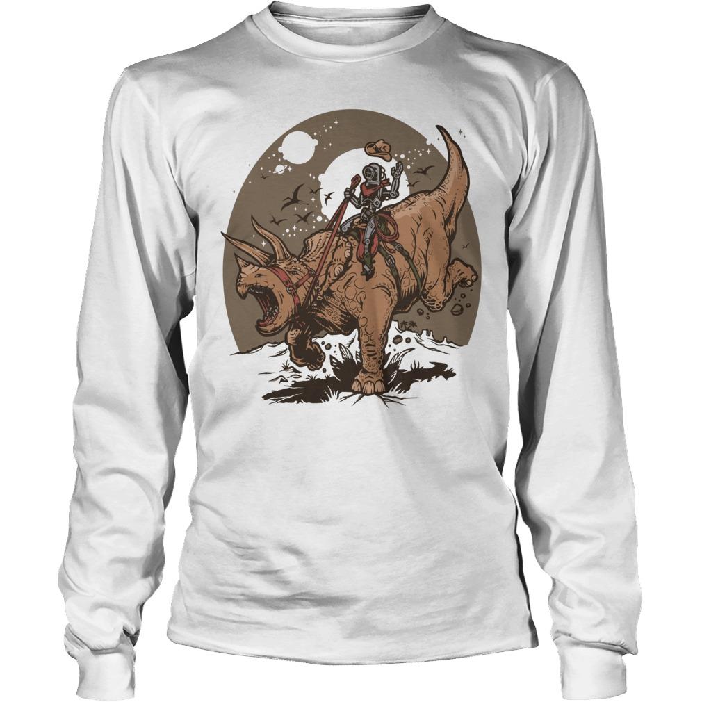 Triceratops Cowbot Dinosaur Trex Longsleeve
