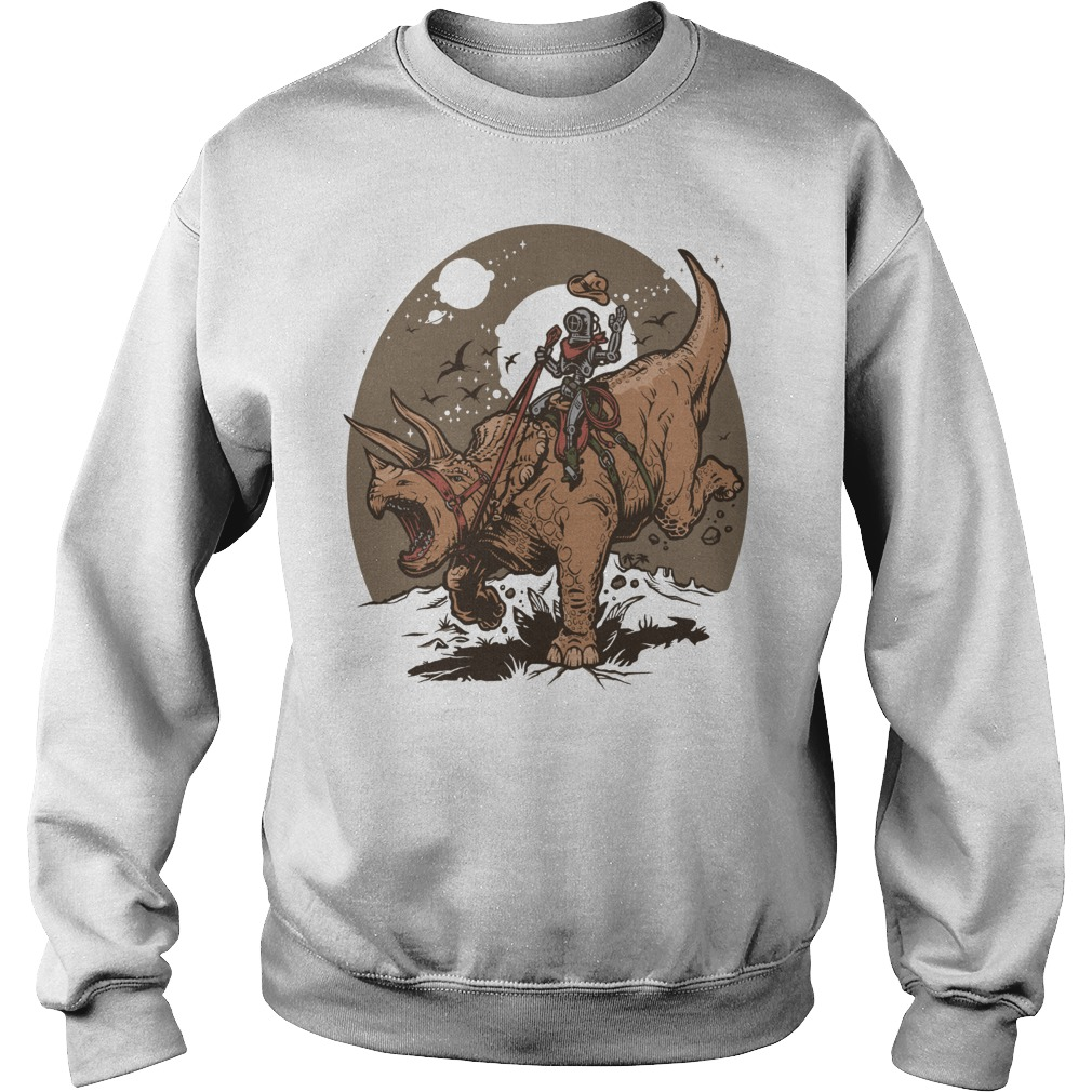 Triceratops Cowbot Dinosaur Trex Sweater