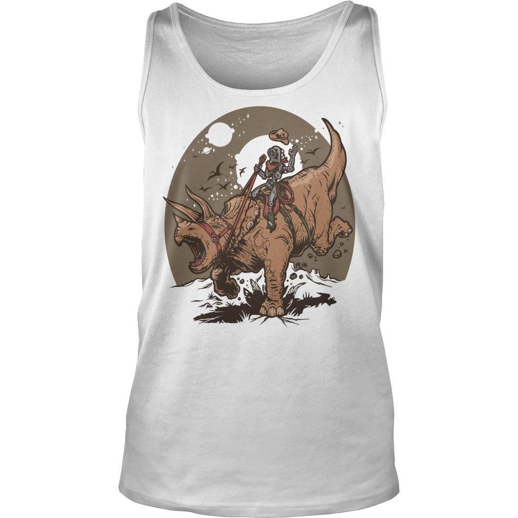 Triceratops Cowbot Dinosaur Trex Tanktop