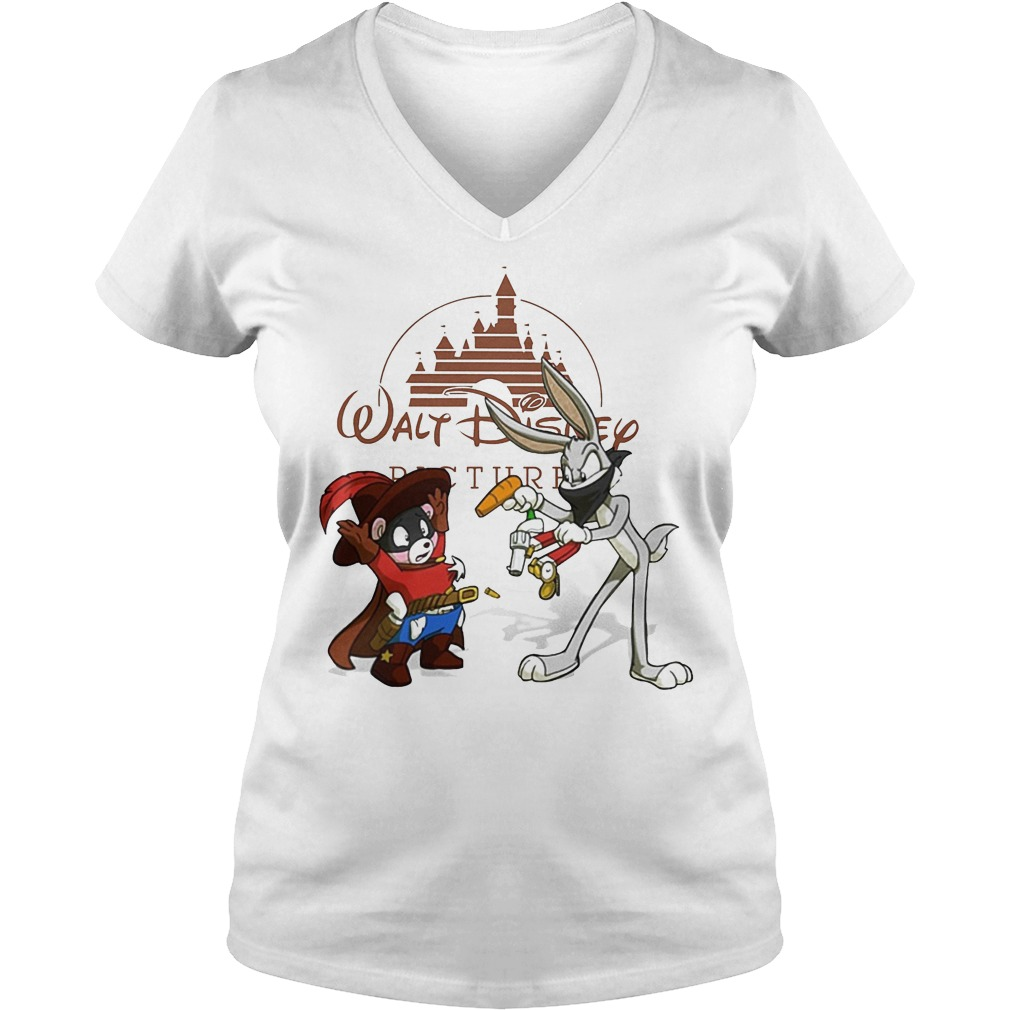 Walt Disney Rabbit Cowboy V Neck