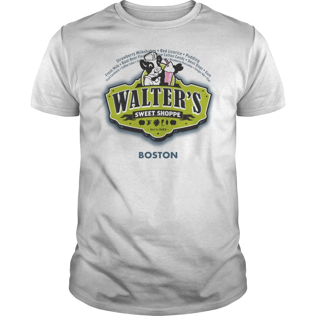 Walters Sweet Shoppe Fringes Dr Walter Bishop Shirt