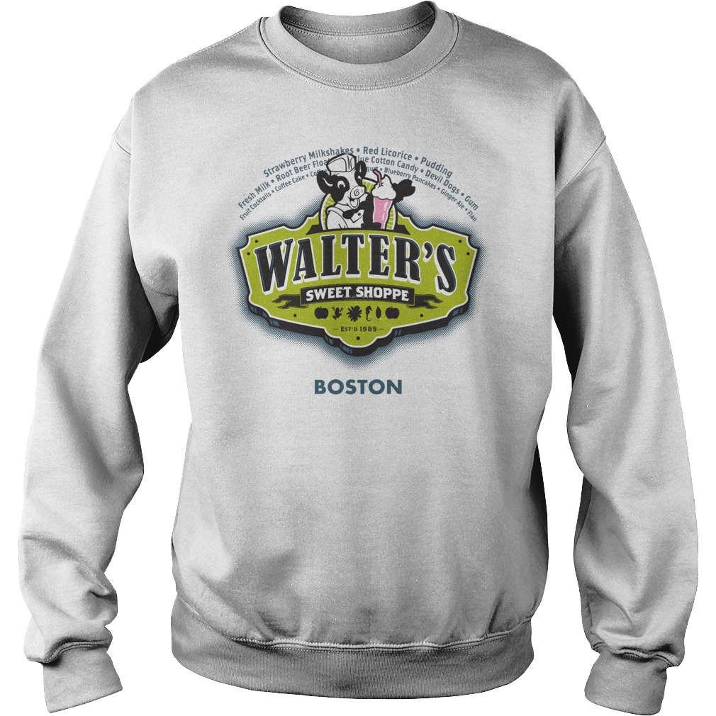 Walters Sweet Shoppe Fringes Dr Walter Bishop Sweater