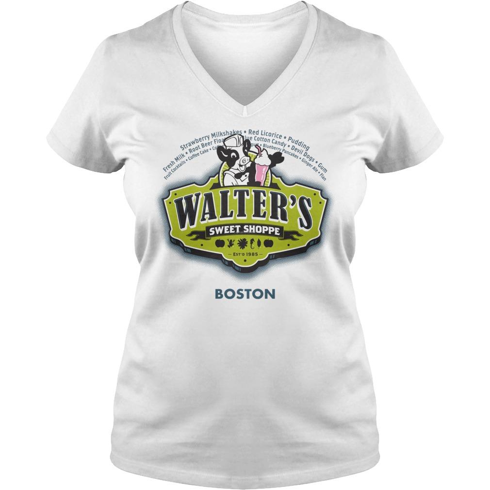 Walters Sweet Shoppe Fringes Dr Walter Bishop V Neck