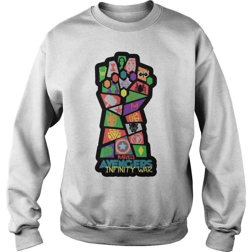 Avengers Infinity War Pop Art Sweater