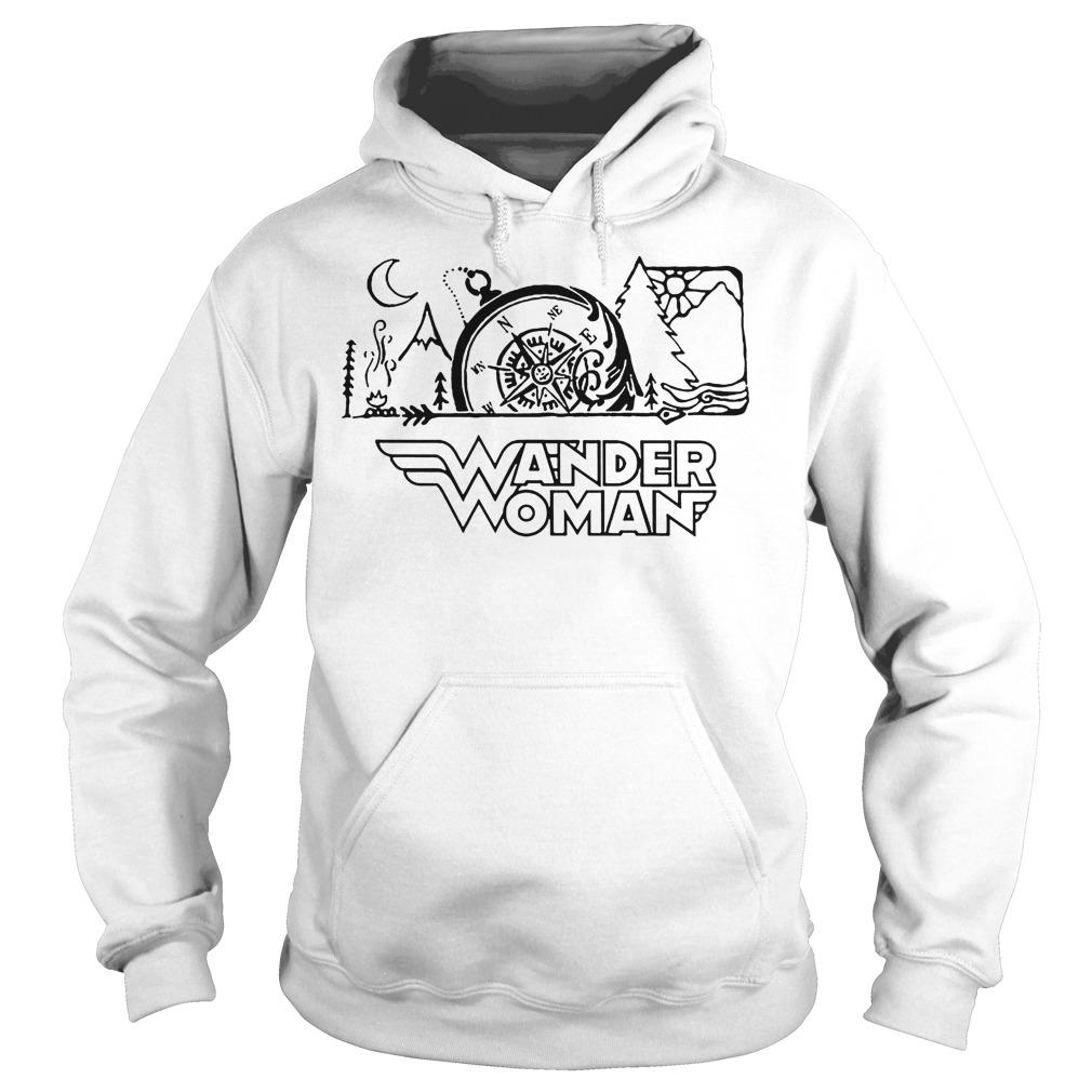 Camping Wander Women Hoodie