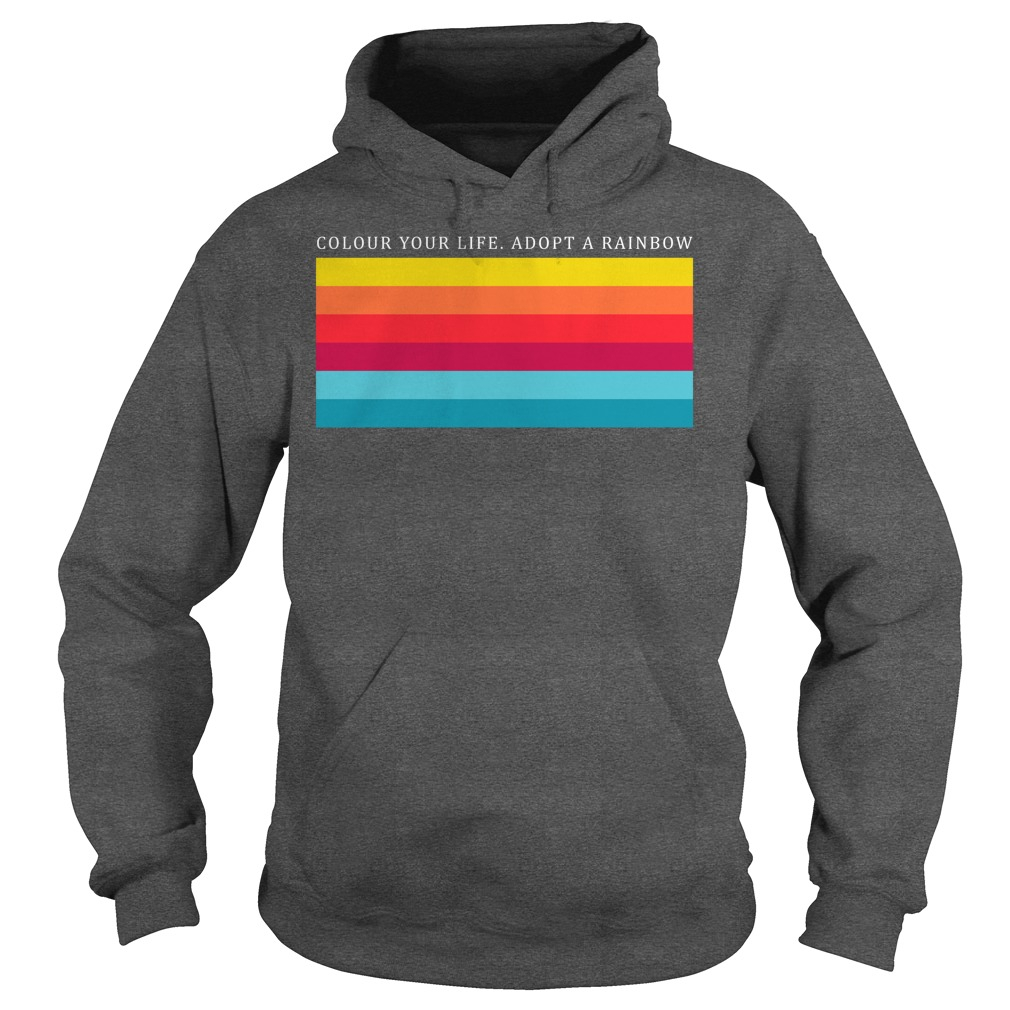 Colour Your Life Adopt A Rainbow Hoodie