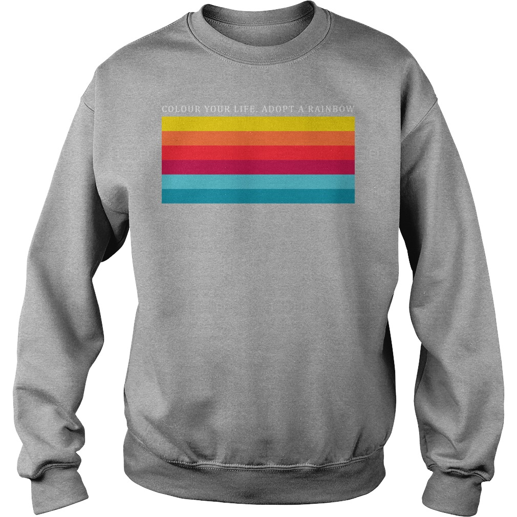 Colour Your Life Adopt A Rainbow Sweater