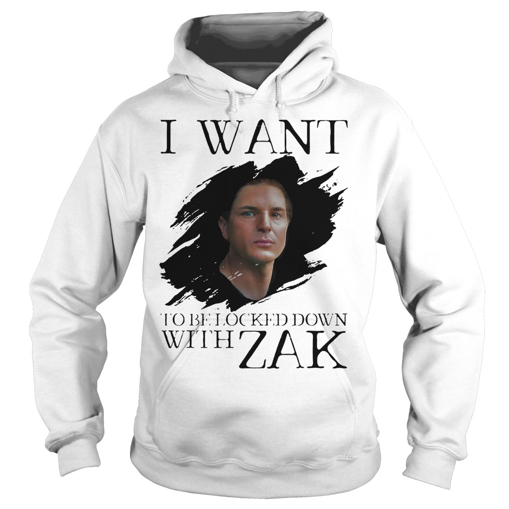 I Want Be Locked Down With Zak Bagas Ghost Adventures Hoodie
