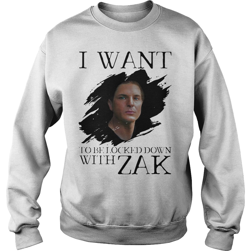 I Want Be Locked Down With Zak Bagas Ghost Adventures Sweater