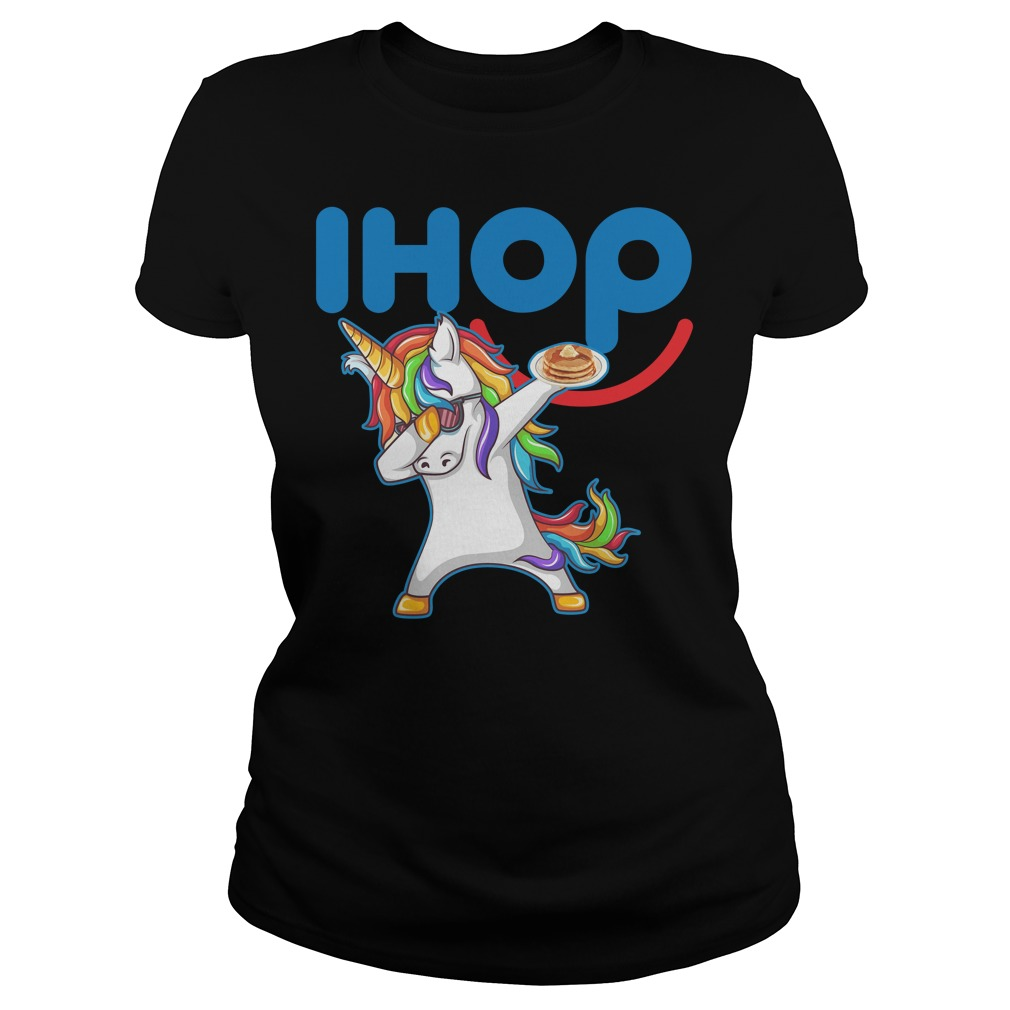 Ihop Unicorn Dabbing With Cake Ladies