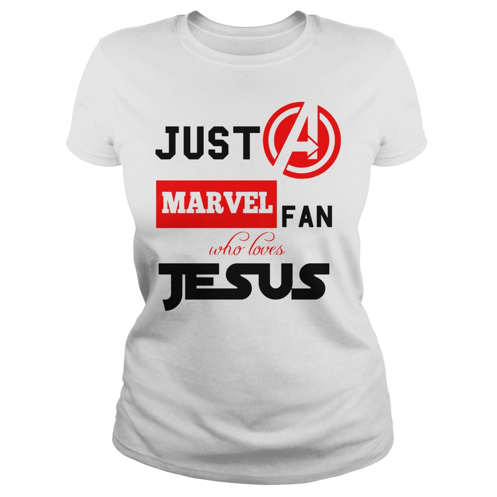 Just A Marvel Fan Who Loves Jesus Ladies