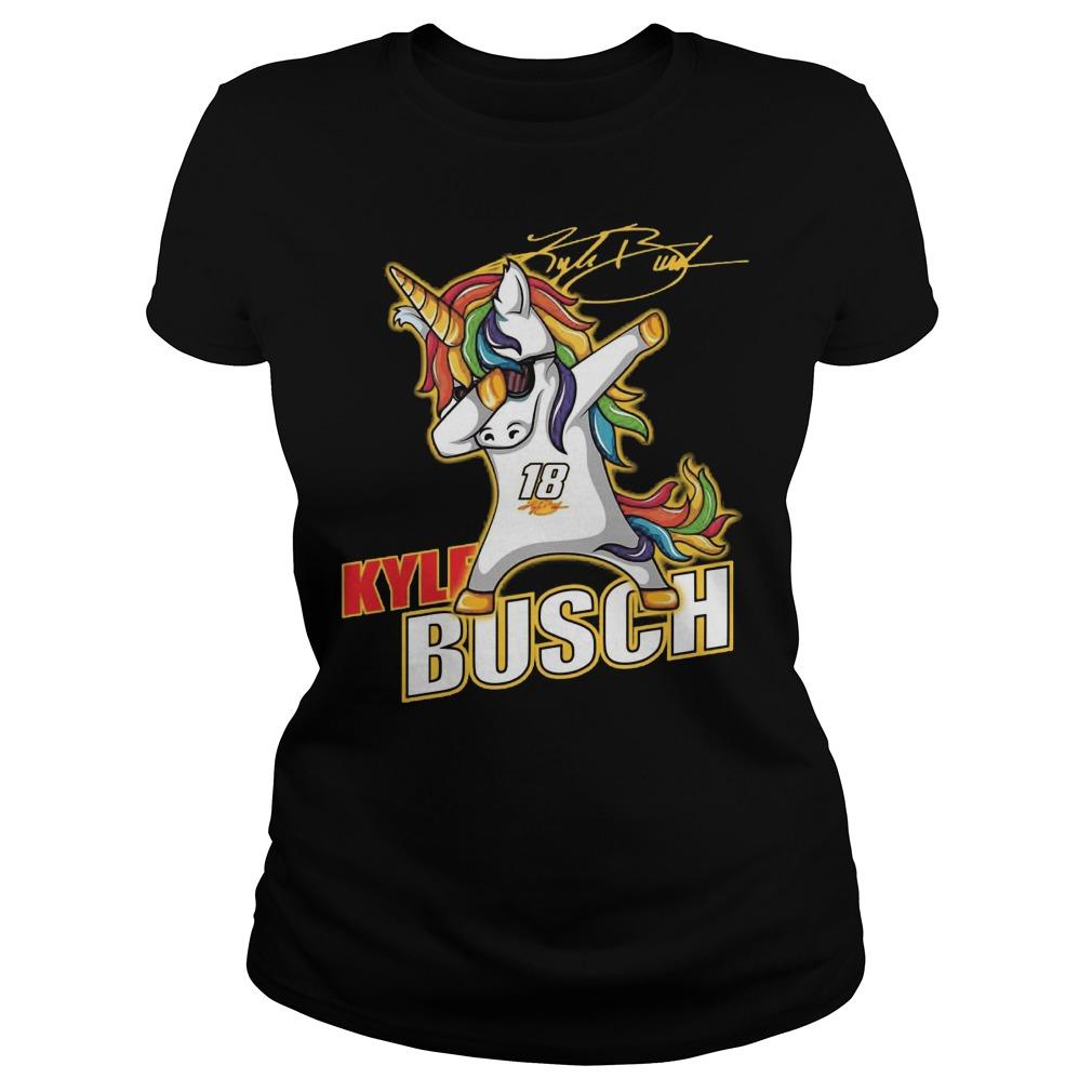 Kyle Busch Unicorn Dabbing Ladies