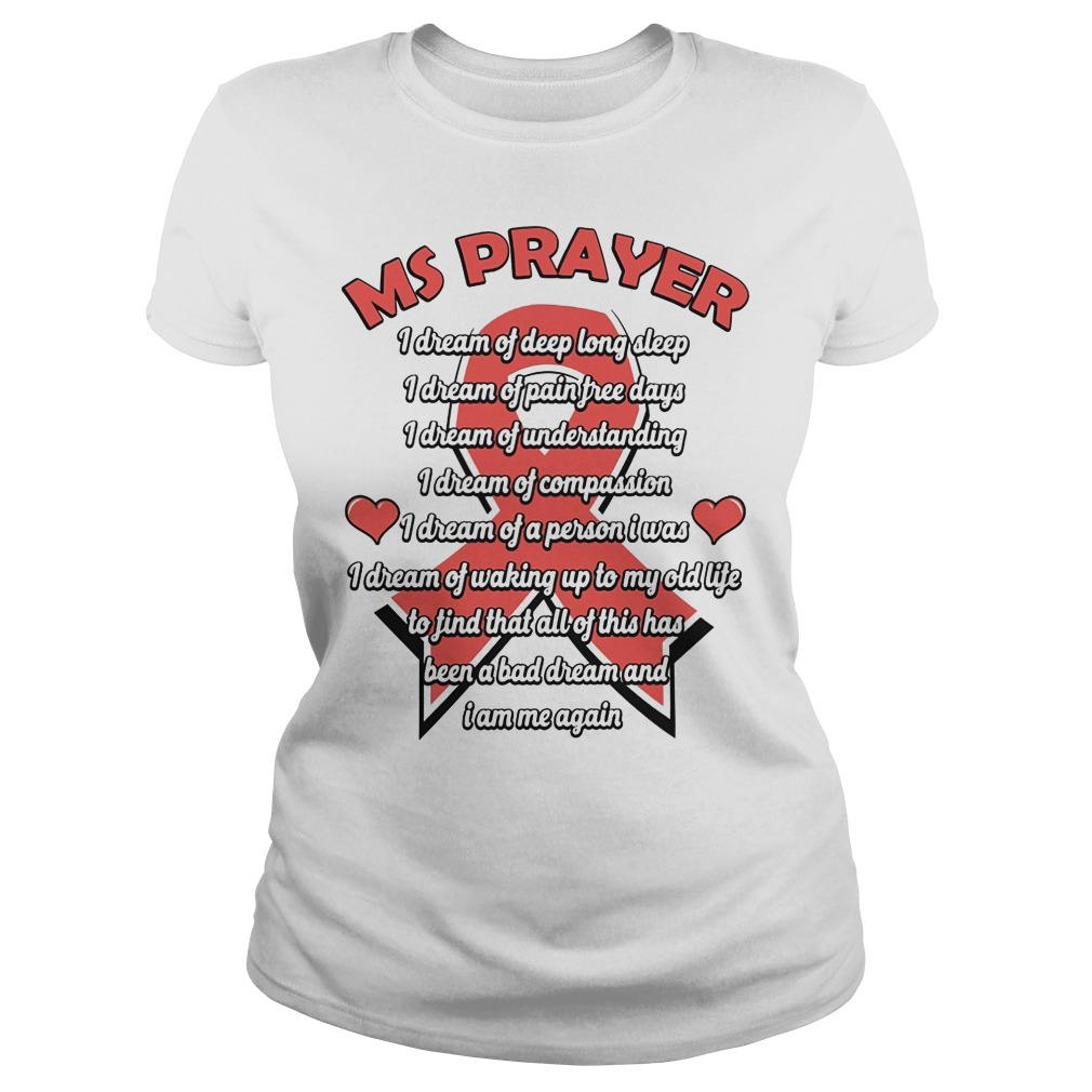 Ms Prayer Breast Cancer Ladies